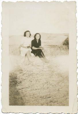 Restauración de fotos. Fotografía con ligeros daños. Original años 50
