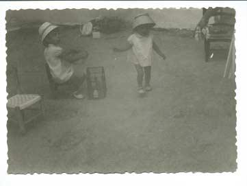 Restauración de fotos.  Original de los años 40